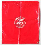 """GLAY ビニールバッグ(レッド) 「GLAY DOME TOUR 2001-2002 """"ONE LOVE""""」"""