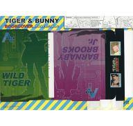ワイルドタイガー&バーナビー・ブルックスJr. ブックカバー・デラックスメタリック 「TIGER&BUNNY」