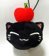 黒ねむネコ フルーツマスコット 「ねむネコ」