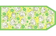 集合(緑) 布製ブックカバー(A5サイズ) 「ぷちます!」