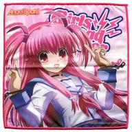 6.ユイ2(指差し) 「トレーディングマイクロファイバーミニタオル Angel Beats!」