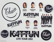 KAT-TUN チャリティー缶バッジ&ステッカーセット 「KAT-TUN LIVE TOUR 2012 CHAIN」