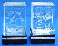 全2種セット プレミアムLED台座付クリスタルコレクションVol.2 「ディズニーキャラクター」