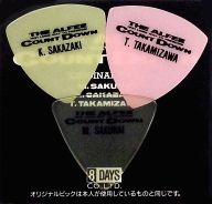 THE ALFEE オリジナルピック3枚セット(イエロー/ピンク/クリア) 「THE ALFEE 1991 LONG WAY TO FREEDOM COUNT DOWN」