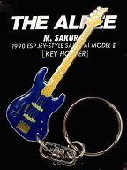 桜井賢(THE ALFEE) ギター型キーホルダー 「THE ALFEE 1990 LONG WAY TO FREEDOM REVOLUTION」