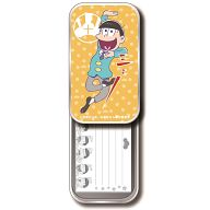 十四松 コウブツヤ ミニ箋入りスライド缶 「おそ松さん」