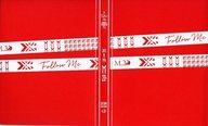 """坂本真綾 ポストカードファイル(レッド) 「坂本真綾 20周年記念LIVE """"FOLLOW ME""""」"""