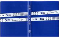"""坂本真綾 ポストカードファイル(ブルー) 「坂本真綾 20周年記念LIVE """"FOLLOW ME""""」"""