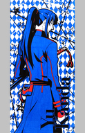神田ユウ バスタオル 「一番くじ D.Gray-man HALLOW~激闘!新たな局面へ~」 B賞