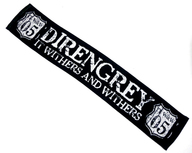 DIR EN GREY マフラータオル 「TOUR05 It withers and withers」