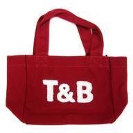 [バンダナ欠品] T&B コラボトートバッグ小(レッドバッグ) 「TIGER&BUNNY×kitson」