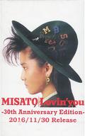 渡辺美里 生カセット『想い出の美里テープ』 「CD Lovin' you -30th Anniversary Edition- 初回生産限定盤」 早期予約特典