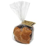 食パン(ココア) もちもちベーカリー ぬいぐるみキーチェーン