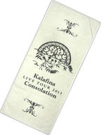 "Kalafina フェイスタオル 「Kalafina LIVE TOUR 2013 ""Consolation""」"