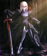 セイバーオルタ ビジュアルクロス 「一番くじ 劇場版『Fate/stay night [Heaven's Feel]』劇場公開記念」 C賞