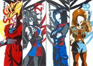 全4種セット アートタオル 「一番くじ ドラゴンボール THE ANDROID BATTLE with ドラゴンボール ファイターズ」 D賞