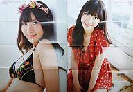 ポスター 柏木由紀(AKB48) 超絶カワイイ水着ポスターFRIDAY2011年12月2日号特別付録
