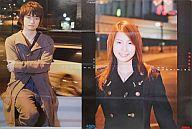 福山潤&小清水亜美 B2両面ポスター アニメディア2007年2月号付録