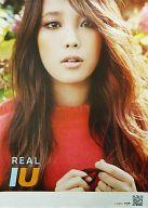 ポスター IU 「CD Real」 初回特典