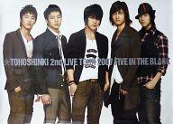 B2ポスター 東方神起(背景白) 「東方神起 2nd LIVE TOUR 2007 ~Five in the Black~」