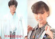 A2両面ポスター(四つ折) 田原俊彦/中森明菜 近代映画1984年2月号付録