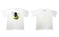 歩鳥「メイドっ!」柄 Tシャツ(ホワイト/Mサイズ)「それでも町は廻っている」