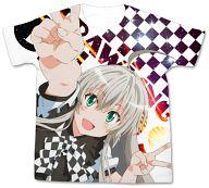 ニャル子 フルグラフィックTシャツ ホワイト Lサイズ 「這いよれ!ニャル子さんW」