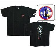 水樹奈々 Tシャツ ブラック Mサイズ「中野サンプラザ座長公演 水樹奈々 大いに唄う 弐」