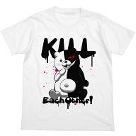 モノクマ殺しあえ!Tシャツ ホワイト XLサイズ 「ダンガンロンパ 希望の学園と絶望の高校生 THE ANIMATION」