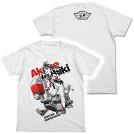あかねとわんこ Tシャツ ホワイト Lサイズ 「ビビッドレッド・オペレーション」