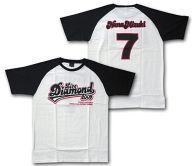 水樹奈々 ラグランTシャツ ホワイト×ブラック Lサイズ 「NANA MIZUKI LIVE DIAMOND 2009」