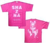 [単品] SHAZNA Tシャツ ピンク Mサイズ 「VHS Silent Beauty 限定版」 同梱特典