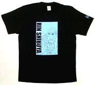 [単品]渋谷凛 Tシャツ ブラック Lサイズ 「アイドルマスター シンデレラガールズ 渋谷凛 応援!セット」