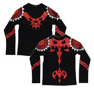 グンジ Tシャツ ブラック 女性用フリーサイズ 「咎狗の血」