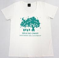 SEKAI NO OWARI 巨大樹Tシャツ ホワイト Lサイズ 「TOKYO FANTASY」