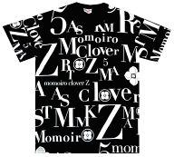 ももいろクローバーZ(箱推し) イニシャル盛りTシャツ ブラック Mサイズ 「ももいろクリスマス2011 さいたまスーパーアリーナ大会」