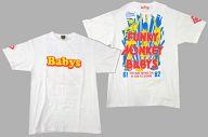 FUNKY MONKEY BABYS おま道FINALTシャツ ホワイト XLサイズ 「FUNKY MONKEY BABYS おまえ達との道FINAL~in 東京ドーム~」