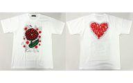 草間彌生×大野智(嵐)デザイン チャリTシャツ ホワイト LLサイズ 「24時間テレビ36 (2013年)」