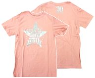 """B'z R&R Tシャツ ピンク Sサイズ 「B'z LIVE-GYM 2008 """"ACTION""""」"""