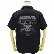 モモンガ/アインズ ワッペンベースワークシャツ ブラック Mサイズ 「オーバーロード」