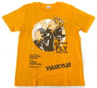 日向翔陽&影山飛雄 Tシャツ オレンジ フリーサイズ 「ハイキュー!!」 WEEKLY JUMP 2012夏当選品