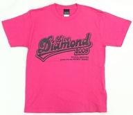 水樹奈々 会場限定Tシャツ ピンク Sサイズ 「NANA MIZUKI LIVE DIAMOND 2009」 7/5西武ドーム公演限定