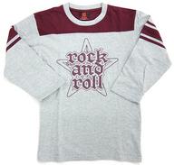 "B'z R&R FBシャツ(ロングTシャツ) グレー XSサイズ 「B'z LIVE-GYM 2008 ""ACTION""」"