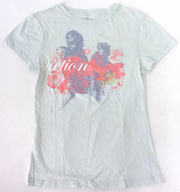 """B'z ACTION Tシャツ レディース ライトブルー 「B'z LIVE-GYM 2008 """"ACTION""""」"""