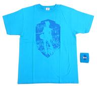 [生写真欠品] 田中れいな ソロTシャツセット(リストバンド付) ブルー Lサイズ 「モーニング娘。コンサートツアー2011春 新創世記 ファンタジーDX ~9期メンを迎えて~」