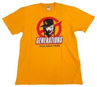 "GENERATIONS ツアーTシャツ オレンジ Lサイズ 「GENERATIONS LIVE TOUR 2016 ""SPEEDSTER""」"