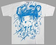 藤咲彩音 BIG-Tシャツ(パーリー柄発泡プリント) ホワイト×ブルー XXLサイズ 「MIKIO SAKABE×でんぱ組.inc×愛☆まどんな」