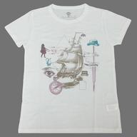 東京事変 Tシャツ(貿易風) ホワイト Sサイズ 「東京事変 Live Tour 2012 Domestique Bon Voyage」