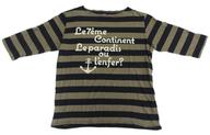 東京事変 Tシャツ(おしゃれマドロス) ネイビー×オリーブ Lサイズ 「東京事変 Live Tour 2012 Domestique Bon Voyage」