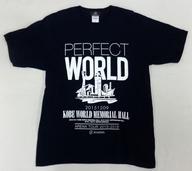 SCANDAL PERFECT WORLD Tシャツ~KOBE ver.~ ネイビー Lサイズ 「SCANDAL ARENA TOUR 2015-2016 『PERFECT WORLD』」 神戸会場限定